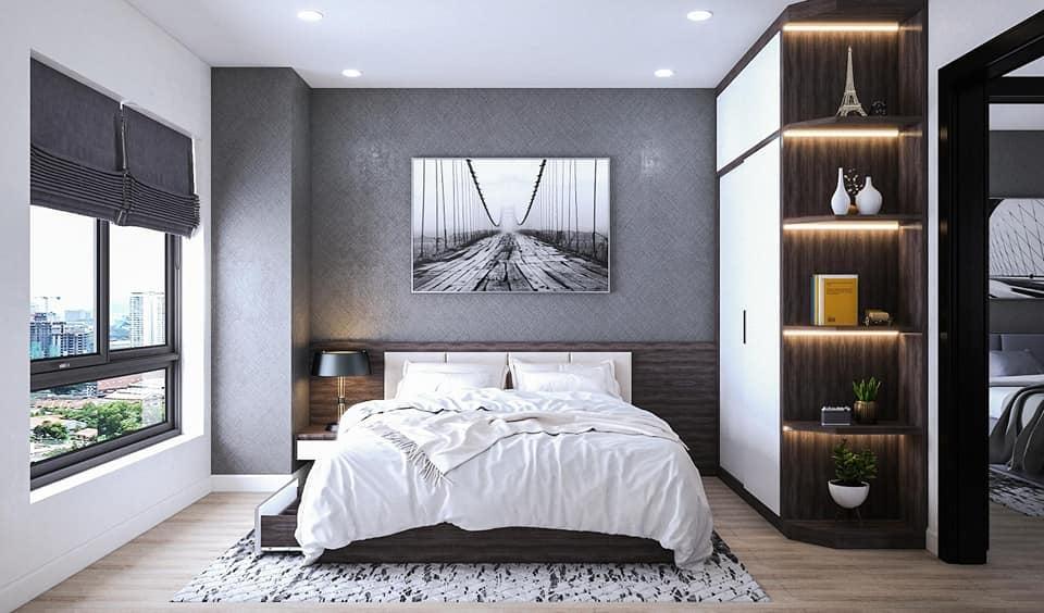Nên bố trí nội thất phòng ngủ đơn giản