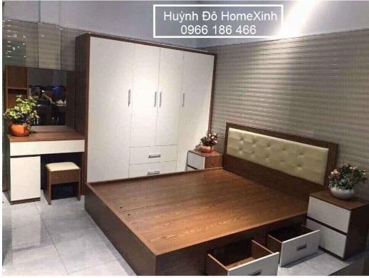 combo nội thất phòng ngủ giá rẻ, siêu đẹp, siêu hiện đại