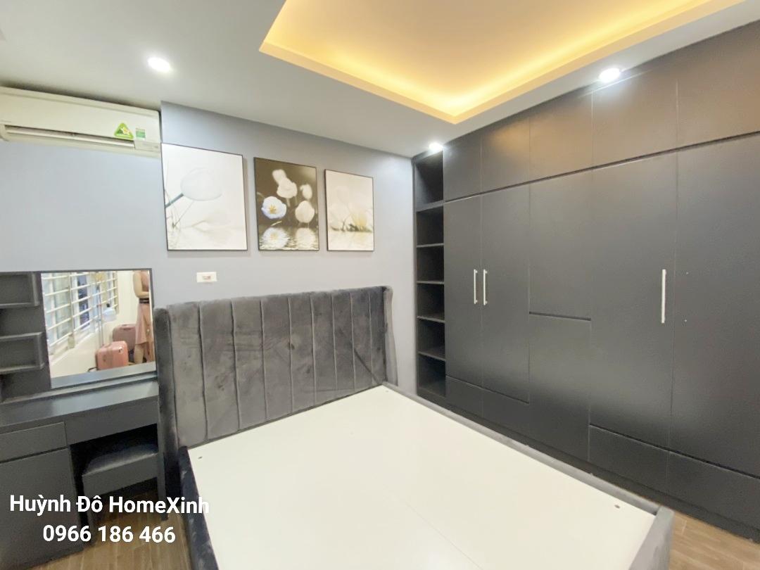 Mẫu combo nội thất phòng ngủ giá rẻ tại Hà Nội hình ảnh thi công thực tế