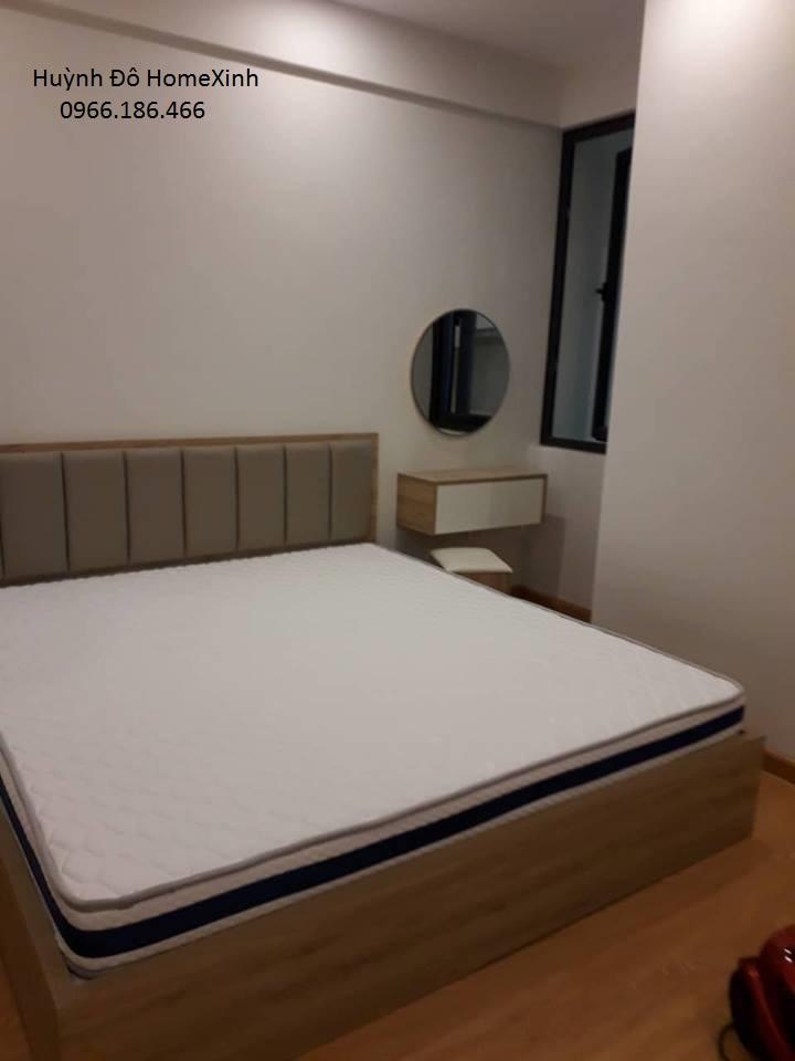 Giường ngủ gỗ công nghiệp đẹp, hiện đại