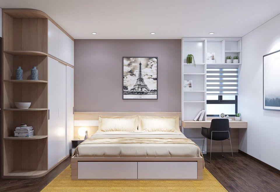 giường tủ gỗ công ngiệp giá rẻ có độ bền cao