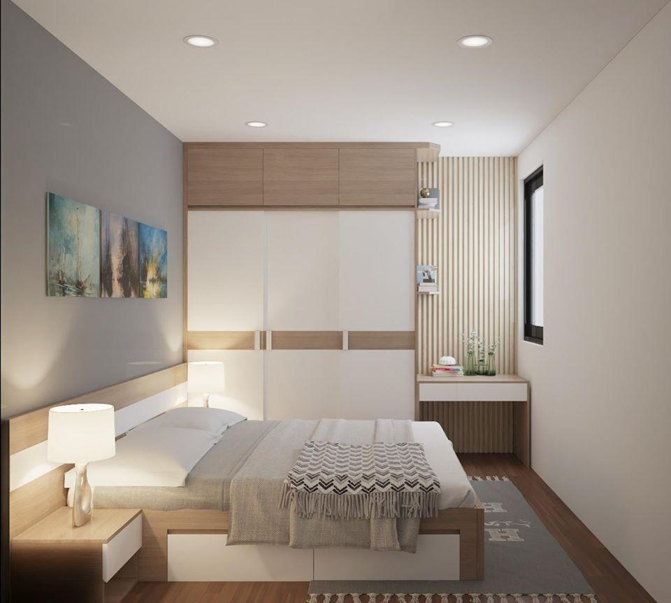 giường tủ gỗ công nghiệp giá rẻ thân thiện với môi trường