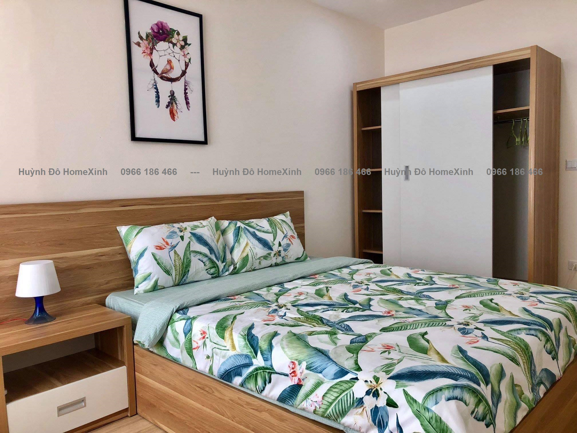 Bộ nội thất phòng ngủ đẹp, hiện đại 2021