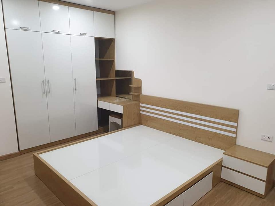 combo nội thất phòng ngủ giá rẻ kiểu dáng hiện đại