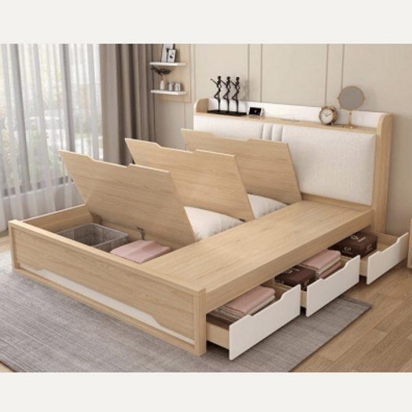 Mẫu giường ngủ thông minh, phong cách hiện đại