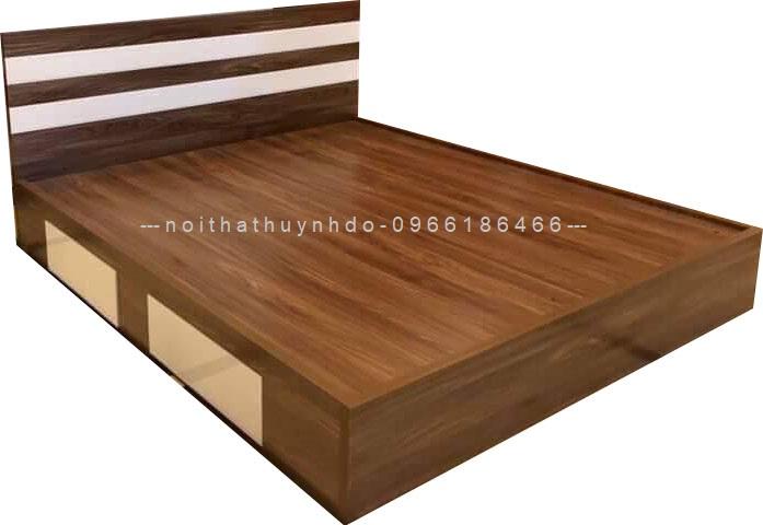 Mẫu giường ngủ gỗ công nghiệp đẹp, hiện đại
