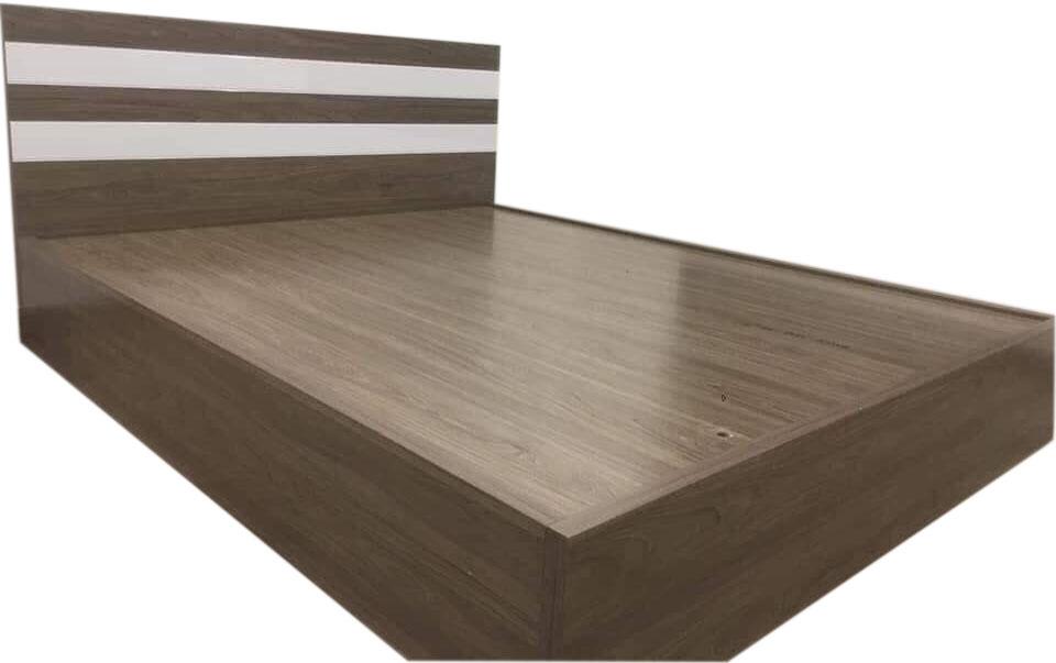 Mẫu giường ngủ gỗ công nghiệp đơn giản, đẹp