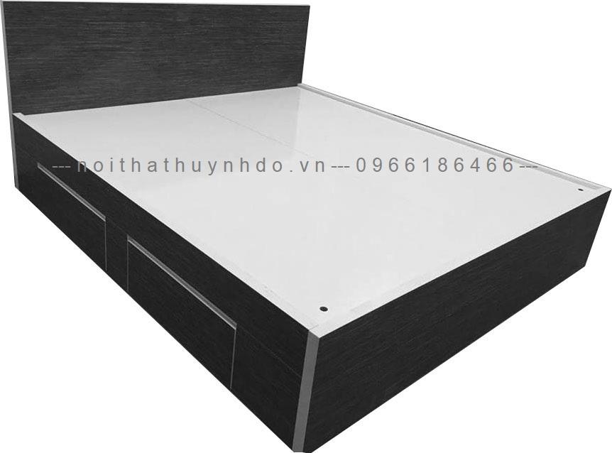 Mẫu giường ngủ gỗ công nghiệp đẹp, giá rẻ 2021