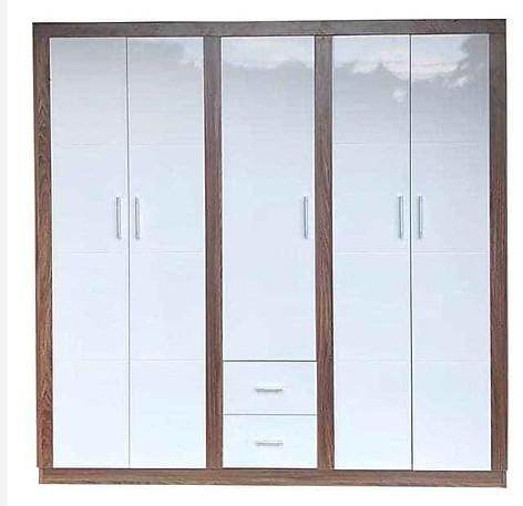 Tủ áo gỗ công nghiệp cánh mở kích thước 2m