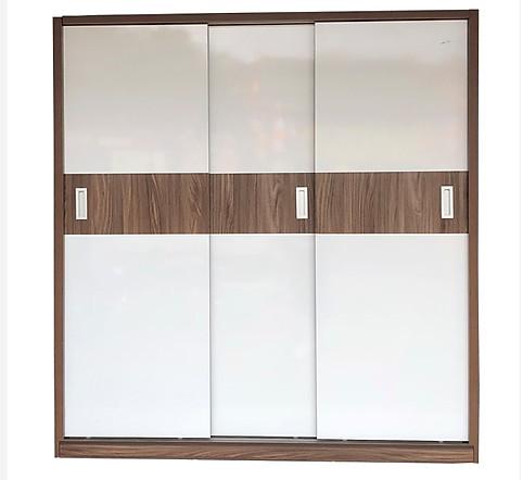 Mẫu tủ áo gỗ công nghiệp giá rẻ kích thước 1m6