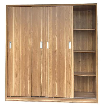 Tủ áo gỗ công nghiệp giá rẻ kích thước 2m